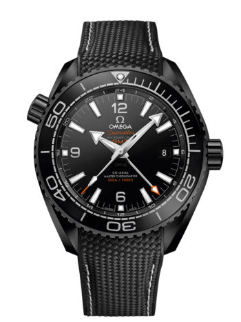 "Seamaster Planet Ocean ""Deep Black"""